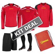 Soccerscool Red Kit Deal